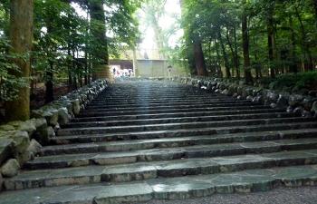 内宮前石段