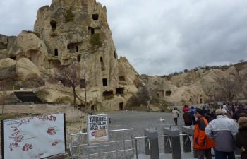 カッパドキア洞窟住居