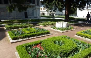 トプカピ、チューリップ庭園