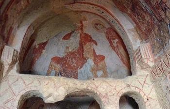 カッパ、洞窟教会祭壇