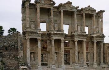 エフェソス、図書館