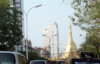 ヤンゴン中心街