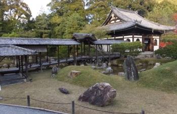 高台寺、渡り橋
