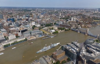シャードからロンドン塔、タワーブリッジ