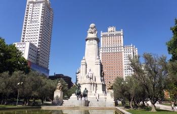 マドリッド、スペイン広場