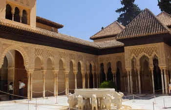 アルハンブラ宮殿ライオンのパテオ