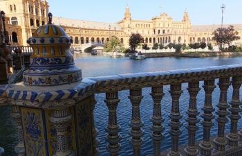 スペイン広場セビーリャ