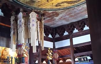 2.相国寺法堂内部