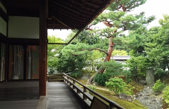 3.相国寺方丈裏庭