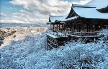 清水冬景色