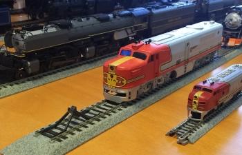 米国機関車HO,N
