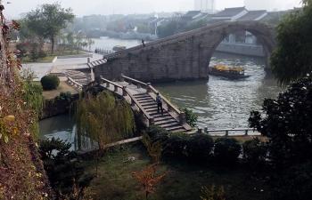 蘇州運河と石橋