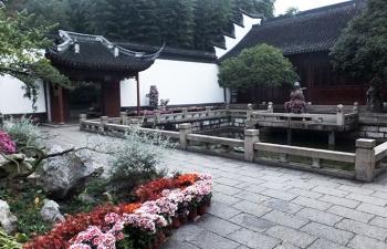 上海、酔白園