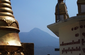 タウンカラ頂上からホッパー山