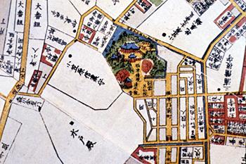 根津神社古図