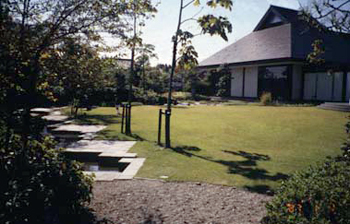 万葉歴史館 庭園
