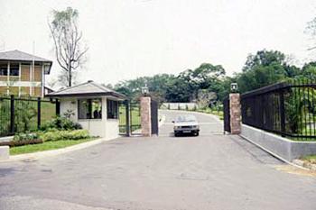 シンガポール公邸正門
