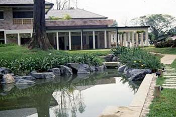 シンガポール公邸庭園